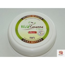 Sheabutter BIO Wild Savanna 100ml mit Vitamin E