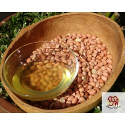 Groundnut oil, cold-pressed