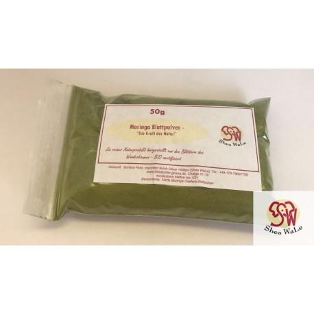 Moringa Oleifera Leaf Powder, certified organic